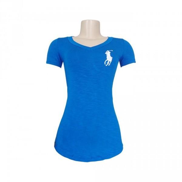 Blusa Feminina Polo Ralph Lauren Azul